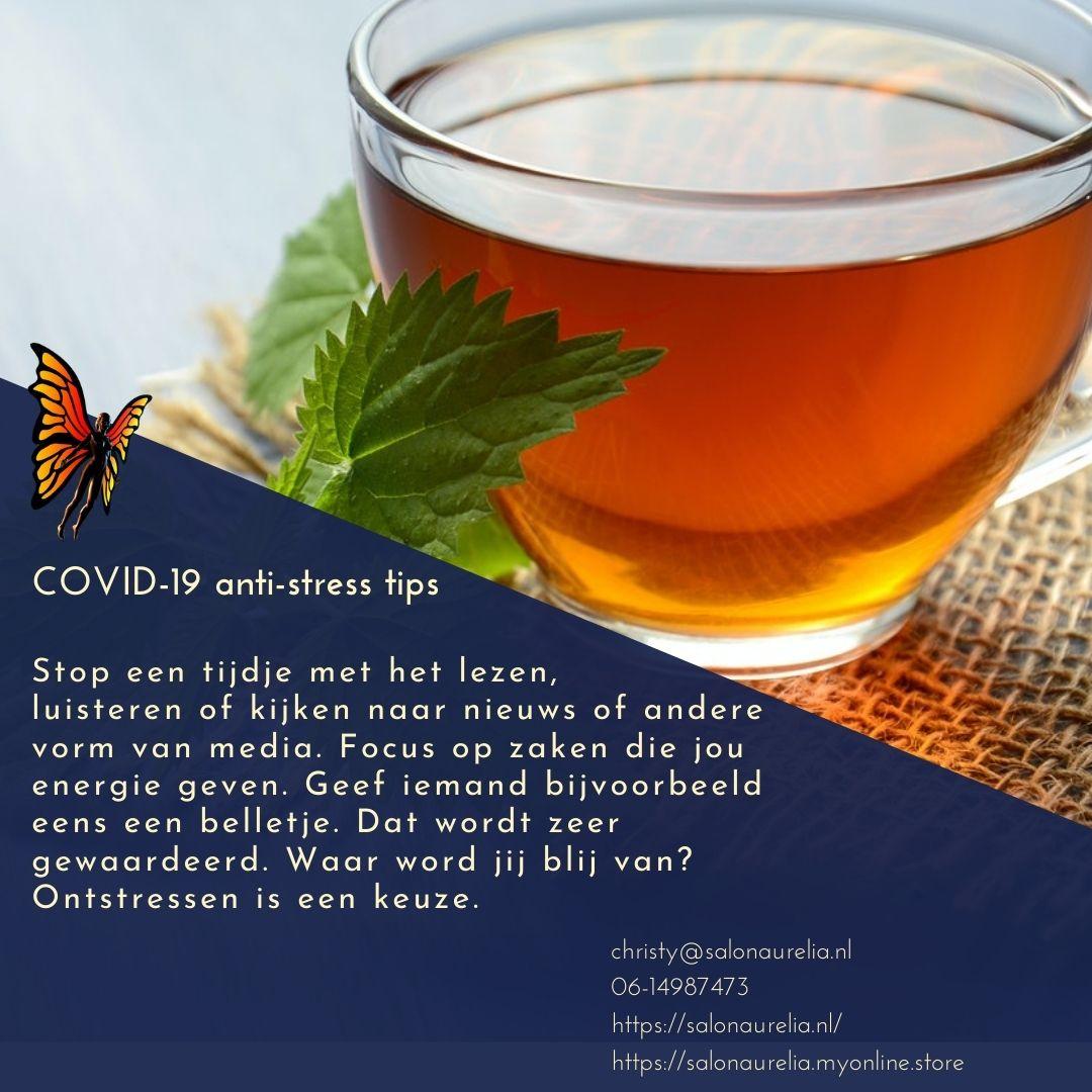 Covid-19 anti-stress tips