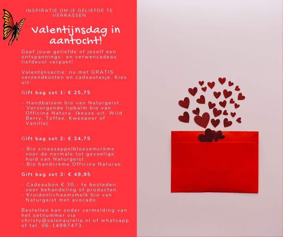 Inspiratie geschenksets Valentijnsdag