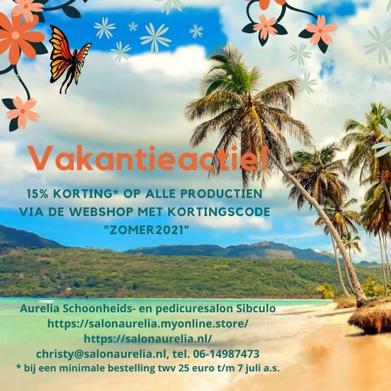 Vakantie korting! Aurelia Schoonheids- en pedicuresalon Sibculo
